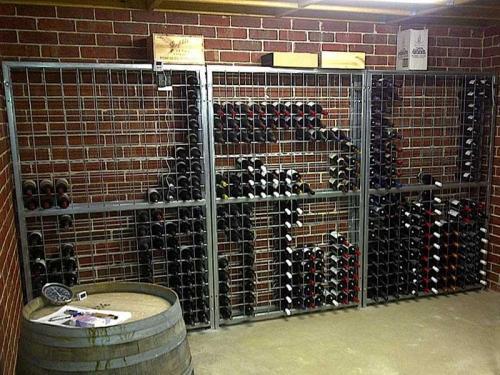 18 high x 12 wide gal steel wine racks
