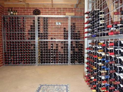 18 high x12 wide galvanised wine racks