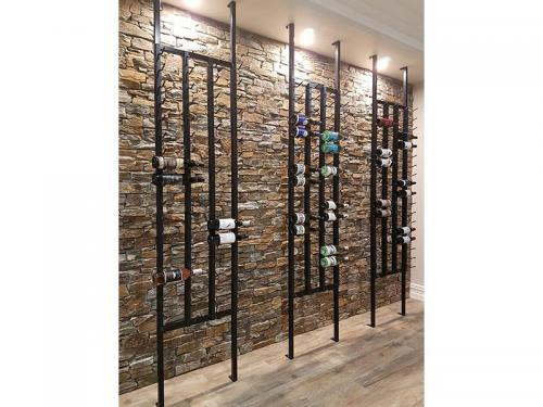 Frame Racks with down lighting