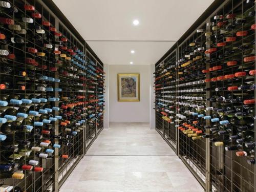 Powder Coated Connoisseur Wine Racks