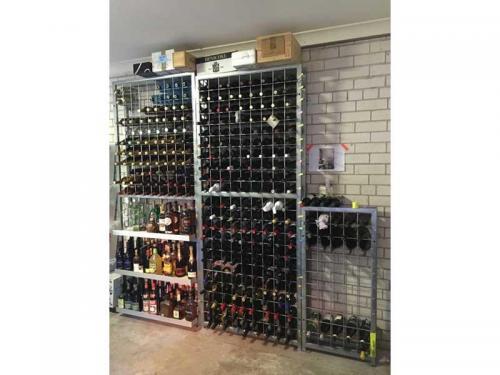 Wine Racks with Shelving Racks