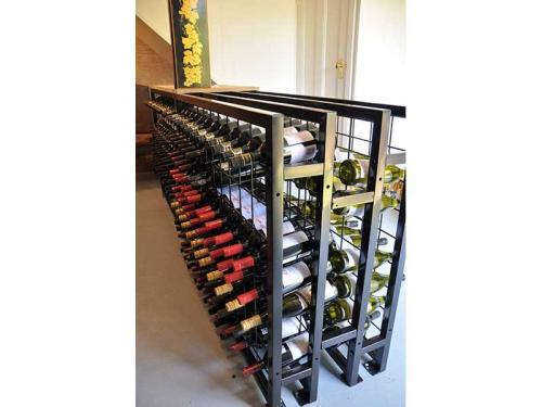 back to back wine racks